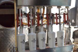 Destille und Abfüllung