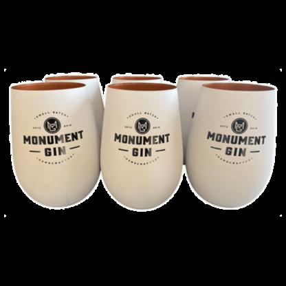 MONUMENT GIN BECHER 6er Pack